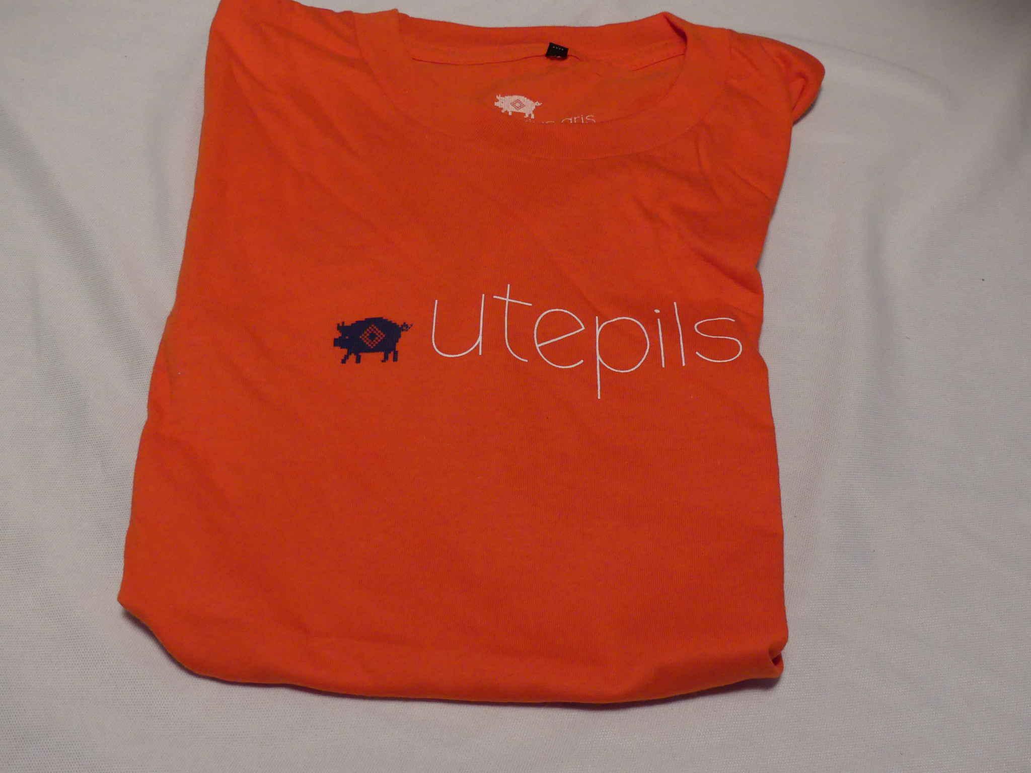 Utepils T-skjorte oransje